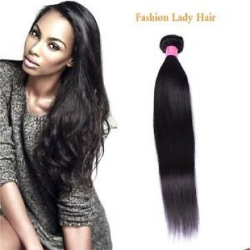 8A Black Straight Brazilian Virgin Human Hair Weft 1 Bundle/100g Human Hair Weav