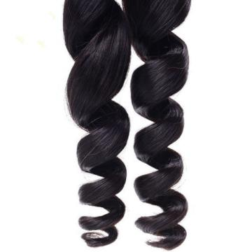 3 Bundles 100% Virgin Brazilian loose wave Remy Human Hair extensions Weave Weft