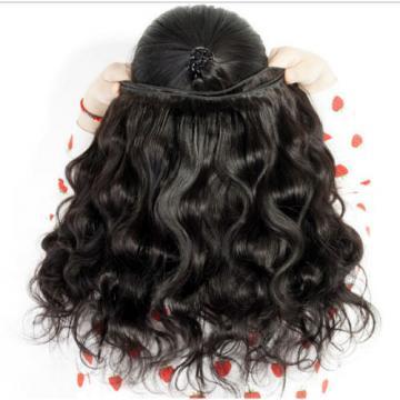 3 Bundles/150g Virgin Brazilian Human Hair Extensions Body Wave Hair Weave weft