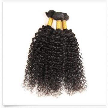 Brazilian Virgin Remy hair Curly Wavy  Human Hair Weave Extensions 150g 3Bundles
