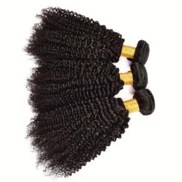 3 Bundles Kinky Curly Brazilian Virgin Hair Curly Weave Human Hair Extensions