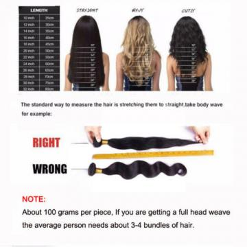 3 Bundles/300g Brazilian Loose Wave Virgin Hair Human Hair Unprocessed