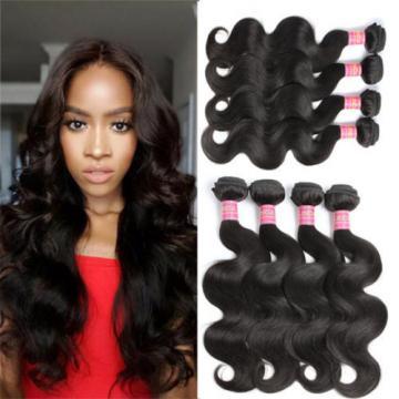 4 Bundles 18 18 20 20inch Brazilian Body Wave 8A Unprocessed Virgin Hair Weave