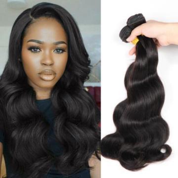 Unprocessed 3 Bundles 6A Virgin Brazilian Human Remy Hair Weave Body Wave 150g