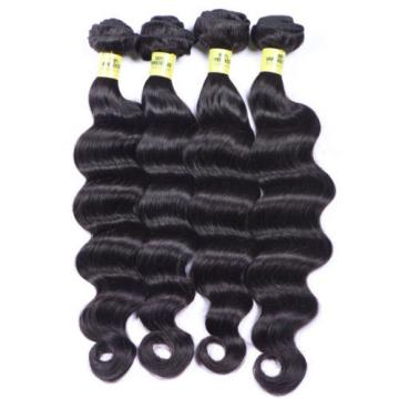 4Bundles 7A 100% Unprocessed Virgin Deep Wave Human Hair Brazilian Peruvian 200g