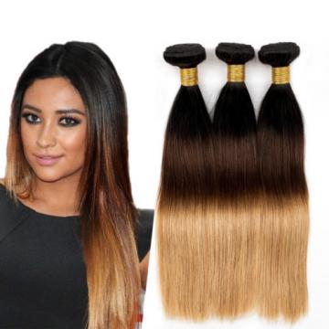 3 Bundles 300g Unprocessed Brazilian Virgin Hair Straight Human Hair Extensions