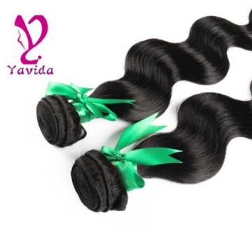 8A Brazilian Body Wave 100% Virgin Human Hair Weave 2 Bundles Extensions 200g