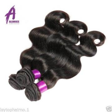 Brazilian Virgin Hair body wave human hair extensions weave THICK 4bundles 400g