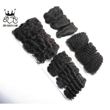 3 bundles 100% unprocessed virgin brazilian hair natural black human remy hair