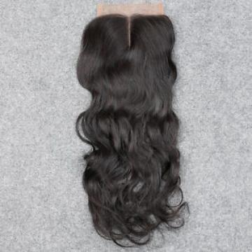 7A 100% Unprocessed Brazilian water wave Virgin Hair Silk Base Closure