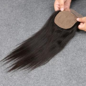 7A Human Virgin Hair 4*4 Brazilian Straight Silk Base Closure Silk Top Closure