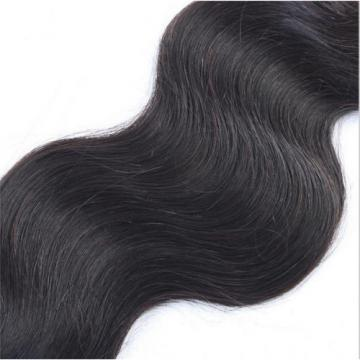 "18"" Body Wavy Brazilian Virgin Human Hair Extension Free Ship"