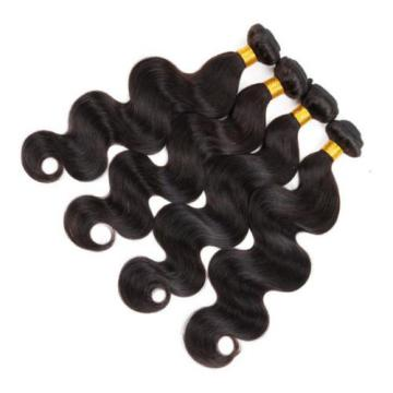 3/4Bundles Brazilian Virgin Hair Body Wave Human Hair Weave Extensions 150g200g