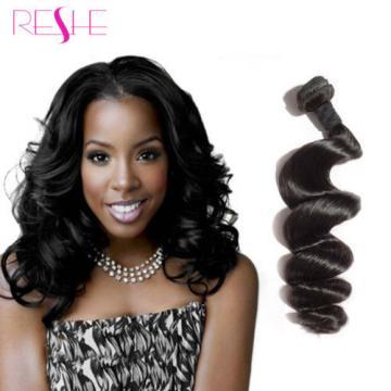 4 Bundles Brazilian Loose Wave Virgin Hair Unprocessed Virgin Human Hair Weft