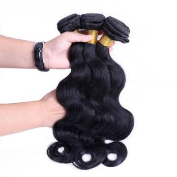 7A 400g Brazilian Virgin Body Wave Human Hair Weft Extensions Weave 4 Bundles