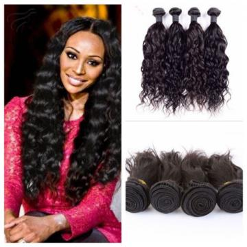 Virgin Top Remy 100% Brazilian 4Bundle remy human hair weft Weave extension 200g