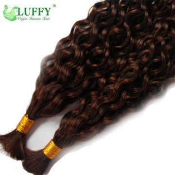 Curly Braiding Hair Bulk Brazilian Virgin Human Hair Extensions Micro Braids
