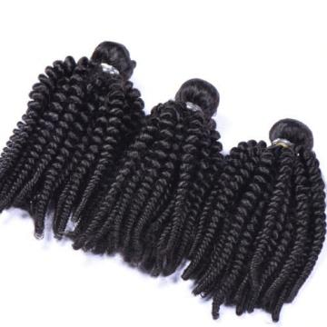3 Bundles Virgin Brazilian Curl Human Hair Weave Loose Wave Hair Extensions Weft