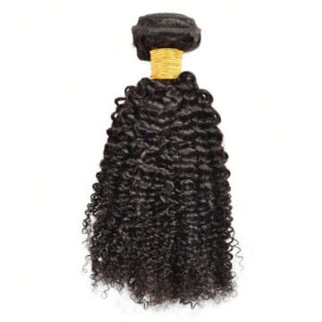 1 Bundle Brazilian Kinky Curly Virgin Hair Curly Weave Human Hair Natural Black