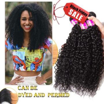 Peruvian Curly Virgin Hair Weave 3 Bundles Human  Hair Extension 100%Unprocessed