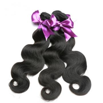 4Bundles 200g 100% Peruvian Brazilian Human Virgin Hair Body Wave Weave Weft