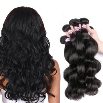 Peruvian Virgin Hair Body Wave 4 Bundles Cheap 7A Human Hair Weave Cheap 200g