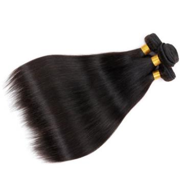 4Bundles/200g 7A Unprocessed Virgin Peruvian Straight Hair Extension Human Weave