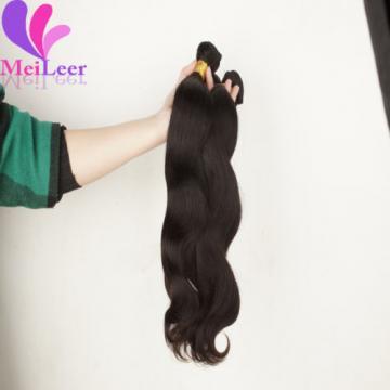 3 Bundles Body Wave 100% Unprocessed Virgin Human hair Extensions Peruvian Wefts
