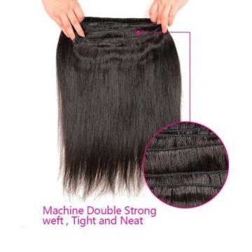 3Bundles/150g Unprocessed Virgin 8A Peruvian Straight Hair Extension Human Hair