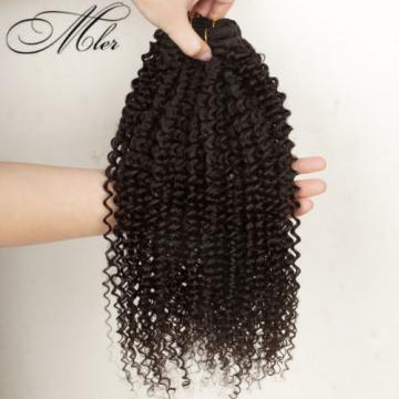 Peruvian Indian 1 Bundle/50g Kinky Curly 100% Virgin Human Hair Extension Weaves