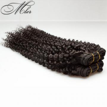 Peruvian Indian 1 Bundle/50g Kinky Curly 100% Virgin Human Hair Extension Weaves