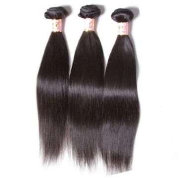 3 Bundles/150g Peruvian Virgin Human Hair Silky Straight 100% Unprocessed Hair