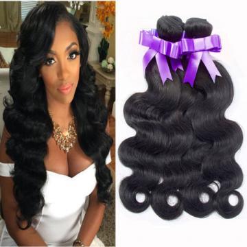 "4 bundles 200g Peruvian Human Hair Weaves Virgin Body Wave Hair Weft 8""-22""inch"