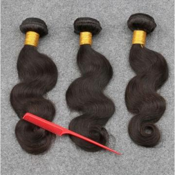 7A  Peruvian Virgin Human Hair 360 Lace Frontal Closure With 3 Bundles Hair
