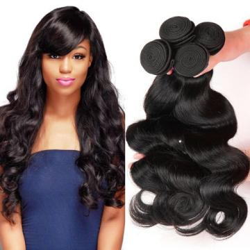 7A Peruvian Virgin Hair Body Wave Hair 100% Human Hair Weave Weft 3 Bundles 300g