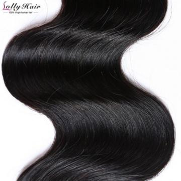 7A 3Bundles/300g 100% Unprocessed Virgin Peruvian Body Wave Human Hair Extension
