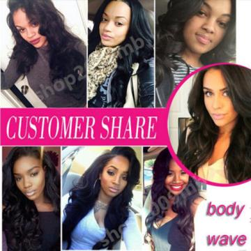 100% Unprocessed Brazilian Peruvian Virgin Human Hair Weave 8A 300g 3bundles