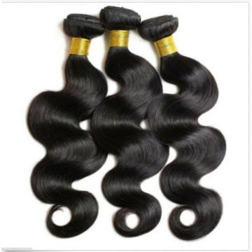 3 Bundles 100% Peruvian Human Virgin Hair Wavy Body Wave Weave Weft 150g all