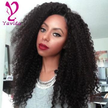 THICK 7A 300g Kinky Curly 3 Bundles Peruvian Virgin Human Hair Weave Weft
