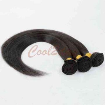 4 Bundles 200g Unprocessed Virgin Peruvian Straight Hair Extension Human Weave
