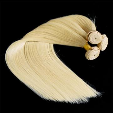 613 Blonde Peruvian 7A Virgin Human Hair Extension Straight Hair Weave Weft 100g