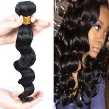 1 Bundle/100g Peruvian Loose Wave Virgin Human Hair Extensions Unprocessed Hair