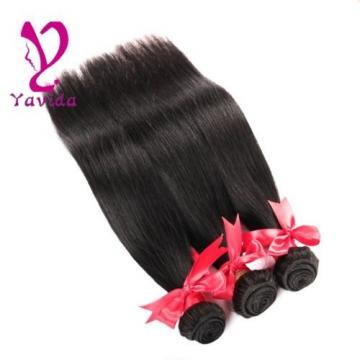 3 Bundle Peruvian Hair 7A Straight Virgin Hair 3 Bundle Deals Huamn Hair Weft