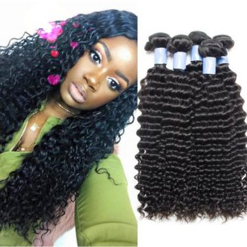 3 Bundles150g Unprocessed Virgin Peruvian natural Deep wave Human Hair Extension