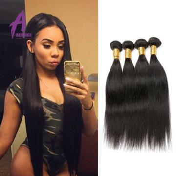 6 Bundles Peruvian Hair Virgin Human Hair Extensions Weave Virgin human hair