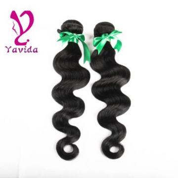 2 Bundles/200g Body Wave Virgin Brazilian/Peruvian/Indian Human Hair Extensions