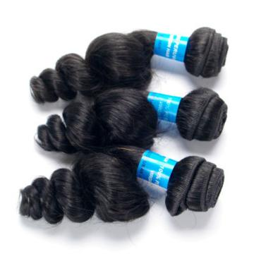Virgin Loose Wave Hair Products 3 Bundles Unprocessed Peruvian Human Hair