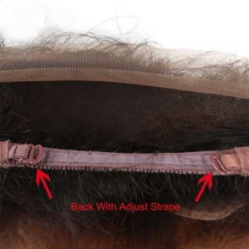 Peruvian Virgin Human Hair 360 Lace Frontal Closure Ombre 1b/30# Lace Closure