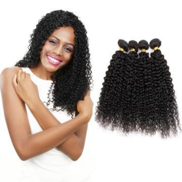 Peruvian Curly Virgin Hair Weave 4 Bundles Human Hair Extension 100%Unprocessed