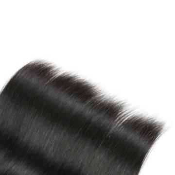 4 Bundles Unprocessed Virgin Peruvian Straight Human Hair Weave 16*2 18*2 200g